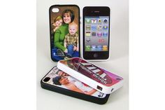 Rubber SubliCover Snap-On Cases for iPhone 4
