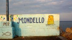 Local art, Mondello, Sicily, Italy