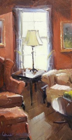 Colley Whisson     The Lamp, USA Oil