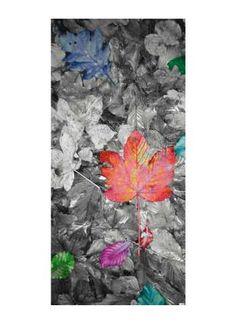 Bunter Herbst Motivdruck Papier