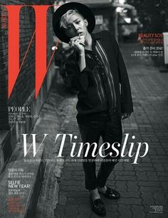 "G-Dragon Covers for ""W Korea"" Magazine January 2014"