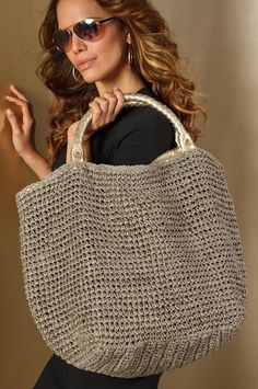 straw tote | beach tote | BAGS-The Finishing Touch