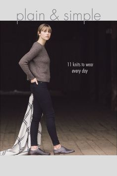 plain & simple: 11 knits to wear every day / a new book by pam allen / quince & co.