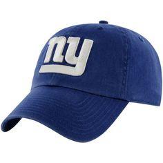 5fd03f1be97 NFL New York Giants  47 Brand Basic Logo Clean Up Super Bowl Patch  Adjustable Hat