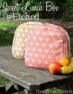 Free Lunch Box pattern - Hawthorne Threads