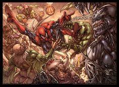 Spider-Man vs Everybody