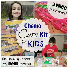 How to make chemo care kits for kids