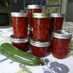 Pick Your Flavor Surprise Zucchini Jam: absolutely the most delicious recipe and it is so easy. Made by Nicole
