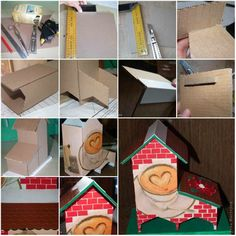 How To Make Cute Cardboard Tea Bag Dispenser step by step DIY tutorial instructions, How to, how to do, diy instructions, crafts, do it yourself, diy website, art project ideas