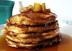 Red apple pancakes are the perfect breakfast or brunch food for the fall season. Who wouldn't want to wake up to the aroma of a hot stack of fruit-filled pancakes on a weekend morning? This delicious recipe is perfect for our Christmas morning breakfast. The pancakesare always moist and nutritious. I recommend these pancakes to be accompanied with hot cinnamon syrup. I crumble clumps of brown sugar and spread the apples out to soften in the pan then whisk flour, milk, and eggs together and…