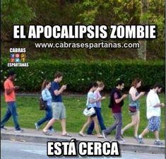 Apocalipsis zombie cuidado que está cerca