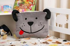Cartoon Dog animal pillow for kids