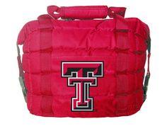 "Texas Tech Red Raiders Cooler Bag: ""The NCAA Texas Tech Red Raiders Cooler Bag is a great… #SportingGoods #SportsJerseys #SportsEquipment"
