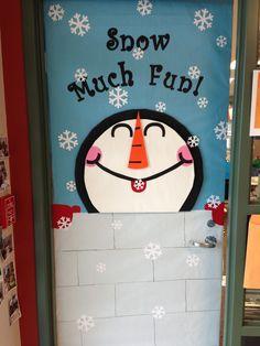 Winter Classroom Door Decorations | Winter Classroom Door...this one was easier than last ... | School Id ...