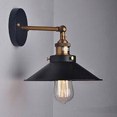 WinSoon MODERN VINTAGE INDUSTRIAL RUSTIC BAR LOFT BLACK METAL PENDANT CEILING WALL SCONCES LIGHTS FIXTURES - - Amazon.com