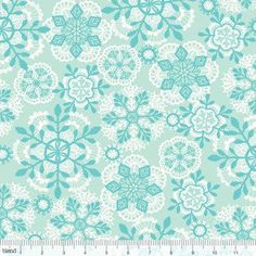 Josephine Kimberling - Vintage Noel - Crochet Snowflakes in Blue