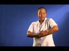 Extract from the South African Sign Language dictionary for families with young Deaf children. SLED has developed a South African Sign Language (SASL) dictio. Simple Sign Language, British Sign Language, Learn Sign Language, Deaf Children, African Children, Sign Language Dictionary, Cute Quotes For Kids, New Children's Books, New South