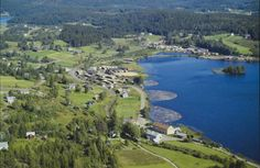Hedmark fylke Eidskog kommune Vestmarka flyfoto Widerøe 1970-tallet