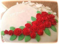 #TMJcreative #birthdaycake #redroses #torta