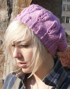 Forest Queen Hat Knit Pattern