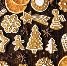 Vianočné medovníky – hneď mäkké Baking Recipes, Cookie Recipes, Pavlova, Gingerbread Cookies, Bakery, Desserts, Christmas, Food, Tasty Food Recipes