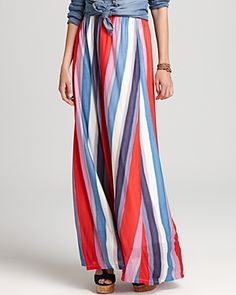 splendid watercolor stripe maxi