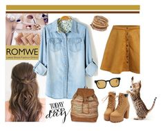 """Untitled #297"" by hajni0103 ❤ liked on Polyvore featuring Chan Luu, Accessorize and Oliver Peoples"