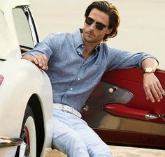 Men's casual style   Tommy Dunn for Brooks Brothers Spring 2014