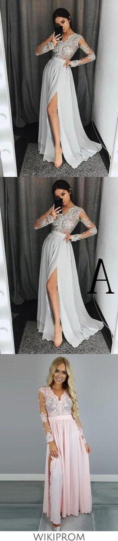 Long Prom Dresses Uk, Cheap Prom Dresses, Formal Dresses, Side Slit Dress, Simple Prom Dress, Sweetheart Prom Dress, Beaded Prom Dress, Rose Dress, Chiffon