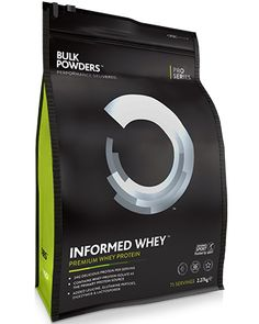 INFORMED WHEY Whey Isolate, Leucine, Glutamine, DigeZyme® & LactoSpore® Banned substance tested under Informed Sport programme Delicious taste and guaranteed 81% protein content http://www.awin1.com/cread.php?awinmid=4822&awinaffid=236335&clickref=&p=http%3A%2F%2Fwww.bulkpowders.co.uk%2Fshop-by-category%2Fprotein-supplements%2Finformed-whey.html