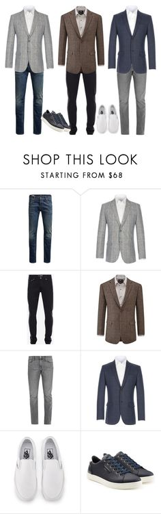 """""""3"""" by apduyer ❤ liked on Polyvore featuring Jack & Jones, Alexander McQueen, Skopes, Frame, Vans, Dolce&Gabbana, men's fashion and menswear"""