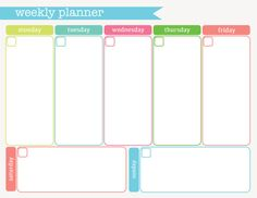 I bought a weekly planner and I will use it to write down my schedules and to do things. This WILL help me to keep myself on track in home and school.