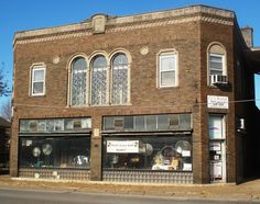 Finley Guy Building in east Davenport, Iowa.