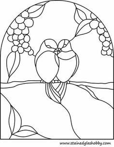 Suncatcher stained glass patterns: Little Blue Bird . Glass Painting Patterns, Stained Glass Patterns Free, Stained Glass Quilt, Stained Glass Birds, Faux Stained Glass, Stained Glass Designs, Stained Glass Panels, Stained Glass Projects, Bird Patterns