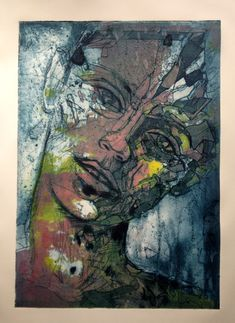 Collagraph Print | collagraph print by jetjames traditional art printing collagraph 2013 ...