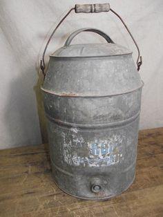 Galvanized Cooler