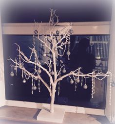 Wishing tree at Christmas