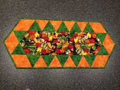First table runner - 2014