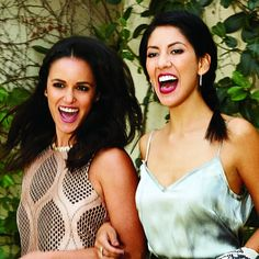 Melissa Fumero and Stephanie Beatriz from Golden Globe-nominated TV show Brooklyn Nine-Nine are the cover stars of the August 2015 issue of Latina, the Brooklyn Nine Nine, Brooklyn 99 Actors, Latina Magazine, Fangirl Problems, Gilmore Girls, Famous Women, Celebs, Celebrities, Famous Faces