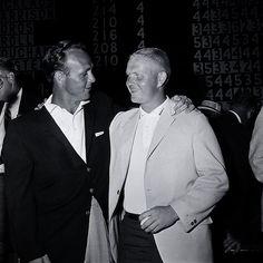 Cherry Hills 1960 Arnie Palmer & jack Nicholus