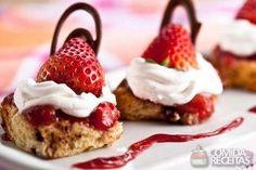 Receita de Tortinha rápida de panetone em receitas de tortas doces, veja essa e outras receitas aqui!