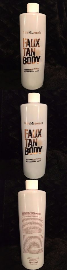 Sunless Tanning Products: Bare Minerals Bare Escentuals Sunless Faux Tan Body Jumbo Sealed No Pump 16Oz -> BUY IT NOW ONLY: $42.95 on eBay!