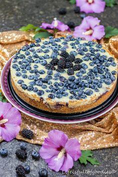 Blaubeer-Pudding-Kuchen