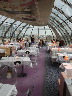 RESTAURANT Kong Restaurant Paris.      PARIS.   Gegeten met Annick. Super uitzicht. Eten simpel