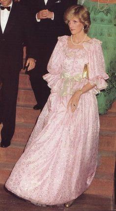 The Arts Centre opens. Princess Diana attends the Royal Gala Concert, Melbourne Concert Hall, 14 April 1983