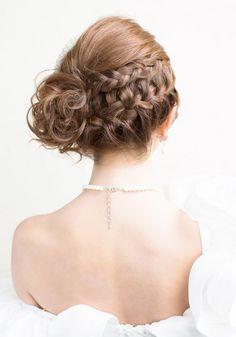 編み込み Braided Hairstyles, Wedding Hairstyles, Cool Hairstyles, Hair Hub, Medium Hair Styles, Long Hair Styles, Edgy Haircuts, Graduation Hairstyles, Hair Arrange