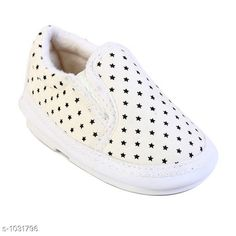Casual Shoes Attractive PVC Kid's Shoes Material: Sole Material - PVC Outer Material -  Fabric UK/IND Size:Age Group( 1.5 Years) - UK/IND - 4C Length - 13.5 cm Age Group (2 Years) - UK/IND -  5C Length - 14 cm Age Group ( 2.5 Years) - UK/IND - 6C Length - 15 cm Age Group (3 Years) - UK/IND - 7C Length - 15.5 cm Age Group (3 - 3.5 Years) - UK/IND - 8C Length - 16.5 cm Description: It Has 1 Piece Of Kid's Shoe Country of Origin: India Sizes Available: 15-18 Months, 18-21 Months, 0-4 Months, 21-24 Months, 10-12 Months, 1, 1.5, 2, 2.5, 6-9 Months, 12-15 Months   Catalog Rating: ★4 (429)  Catalog Name: Unisex Attractive PVC Kid's Shoes Vol 1 CatalogID_124825 C57-SC1188 Code: 882-1031796-216
