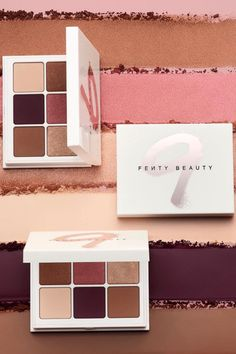 "Fenty Beauty's new Snap Shadows 9 in ""Wine"" combines 6 color rich, wine inspired shades hand selected by Rihanna! This palette is compact for easy travel with a super blendable range of matte to shimmer finishes that complement every skin tone!"