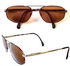 Vintage Sunglasses, Aviators, Jaguar, My Ebay, Eyewear, Pilot, Germany, Mens Fashion, Moda Masculina