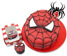How to make a Spiderman Cake